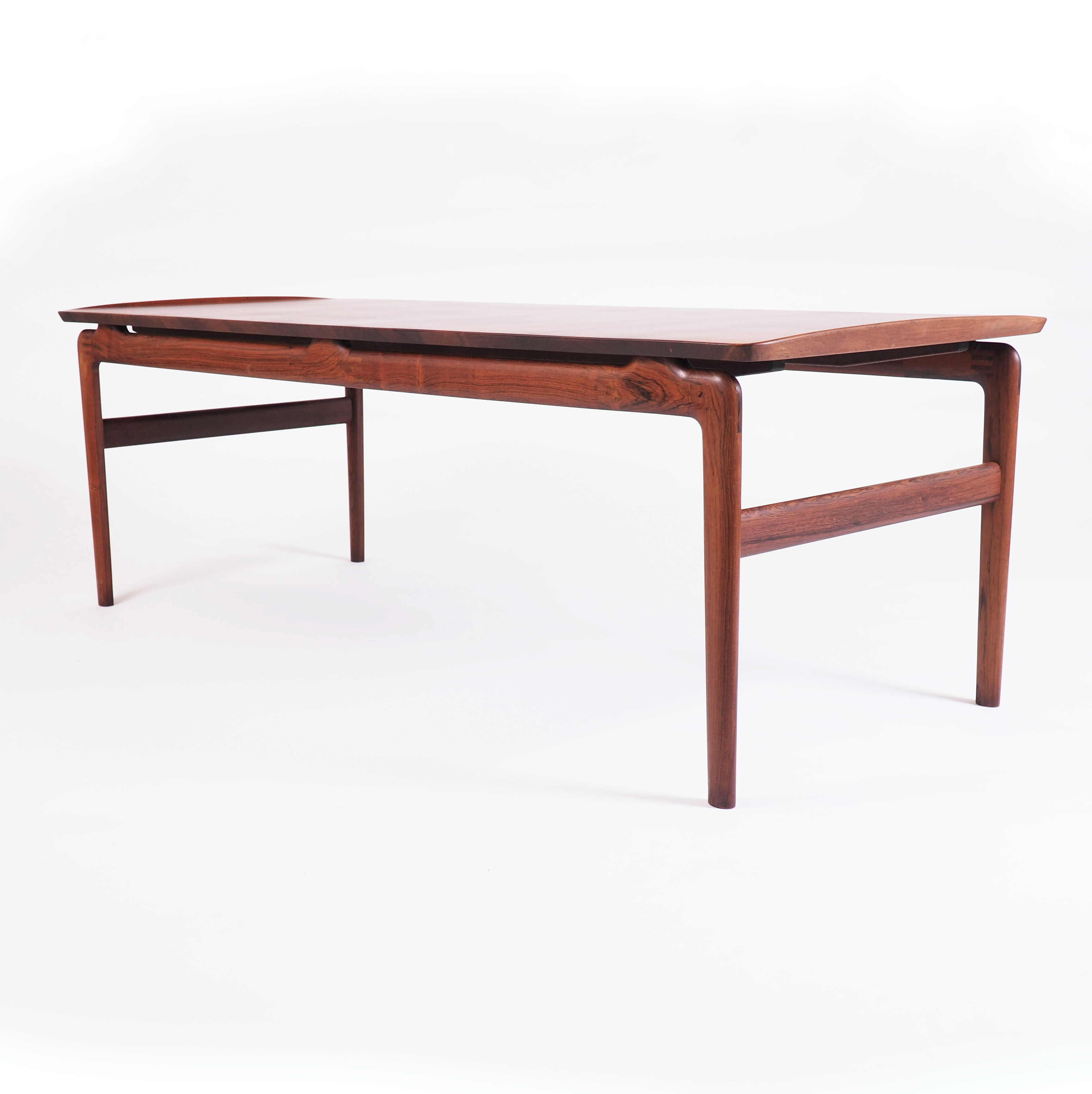 Table in Solid Rosewood by Peter Hvidt and Orla Mølgaard-Nielsen, Denmark