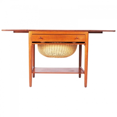 Sewing table by Hans J Wegner
