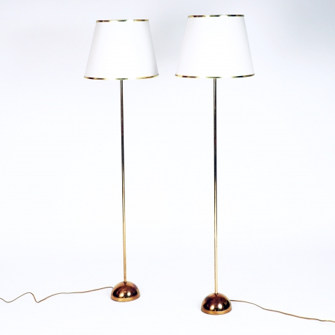 A pair of floor lamps by Bergboms