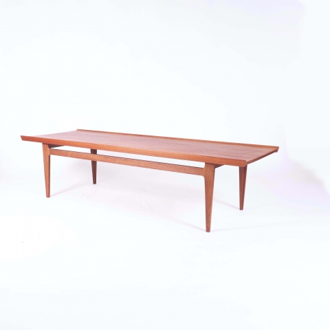 Coffee Table in Solid Teak by Finn Juhl, Denmark