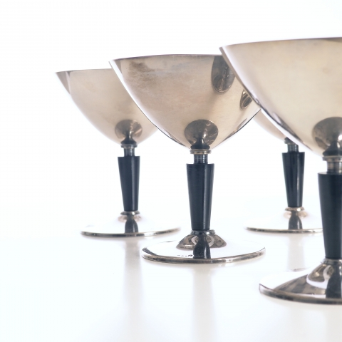 Cocktail glasses by Folke Arström